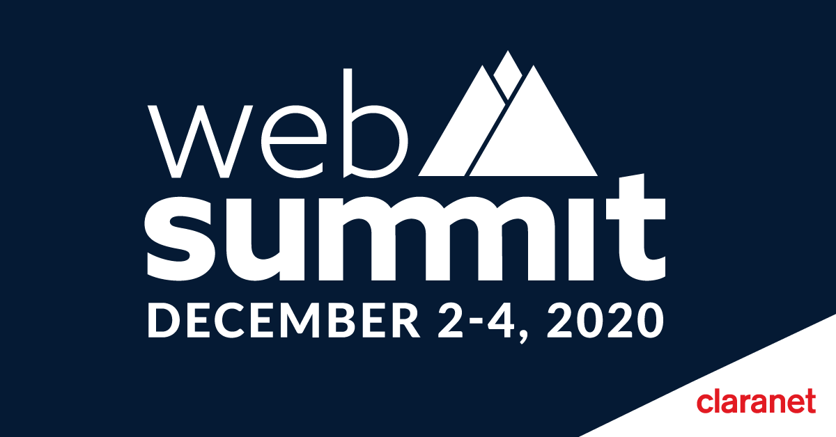 Claranet Portugal é Partner na Web Summit 2020
