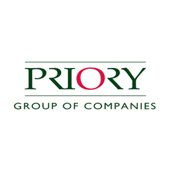 Priory logo for case study