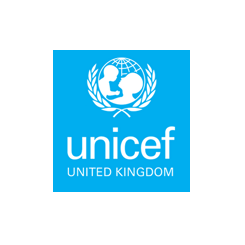 Unicef logo for case study